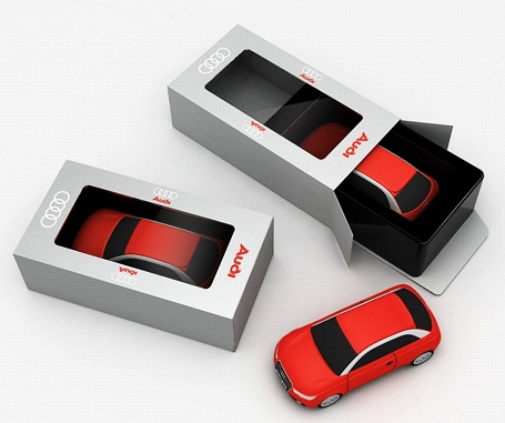 Audi A1 Custom Made Packaging
